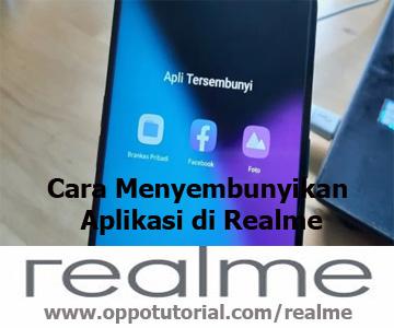 Cara Menyembunyikan Aplikasi di Realme