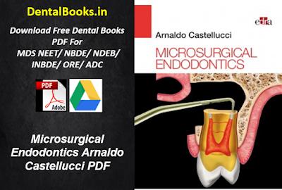 Microsurgical Endodontics Arnaldo Castellucci PDF Download