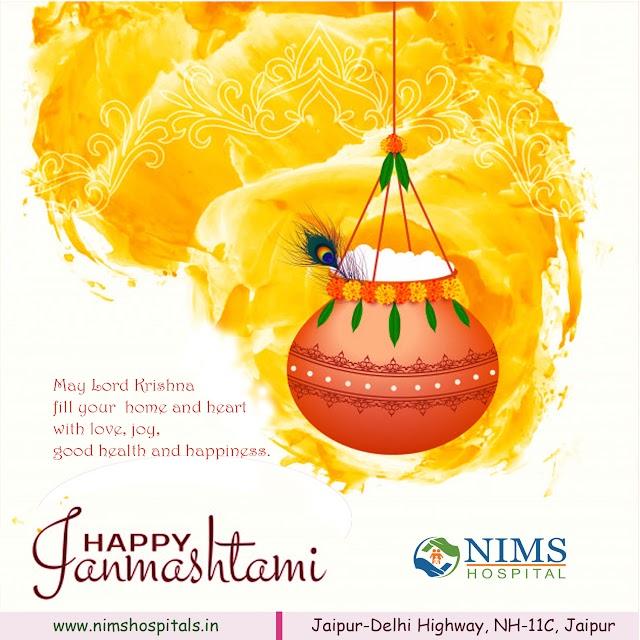 Janmasthami Wishes - Nims Hosital, Nims University