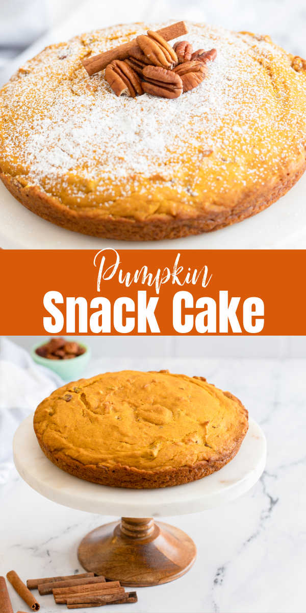 Pumpkin Crunch Snacking Cake