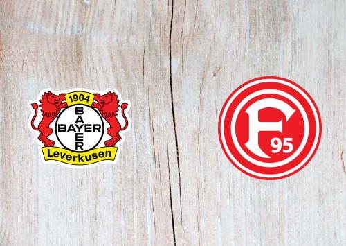 Bayer Leverkusen vs Fortuna Dusseldorf -Highlights 26 January 2020