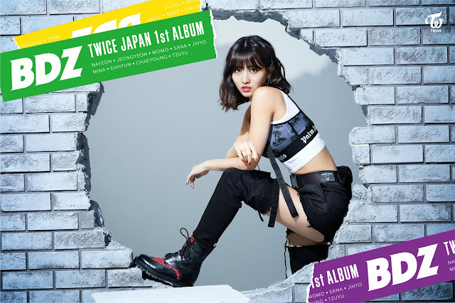 twice comeback japon album bdz