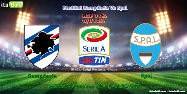 Prediksi Sampdoria Vs Spal - ituBola