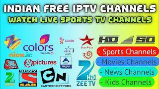 Letest All Indian IPTV Channels M3U8 Playlist Links - Free IPTV M3U8 Links