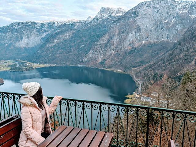 Winter Family Travel in Hallstatt, Austria