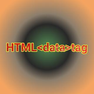 HTML <data> tag