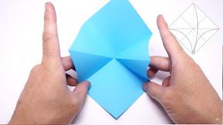 Cách gấp máy bay giấy phong cách Origami 4
