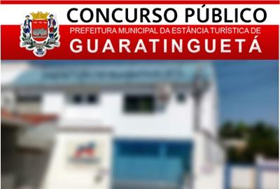 Concurso Prefeitura de Guaratinguetá 2017