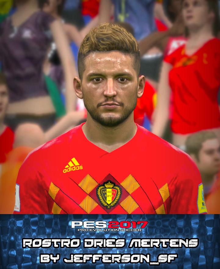 PES 2017 Mertens Face