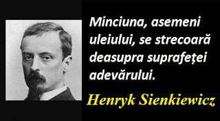 Citatul zilei: 5 mai - Henryk Sienkiewicz