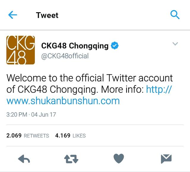 ckg48 chongqing logo member chungking twitter