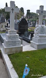 Percy D. Chater Cementerio Británico Uruguay Fútbol Peñarol visitas guiadas
