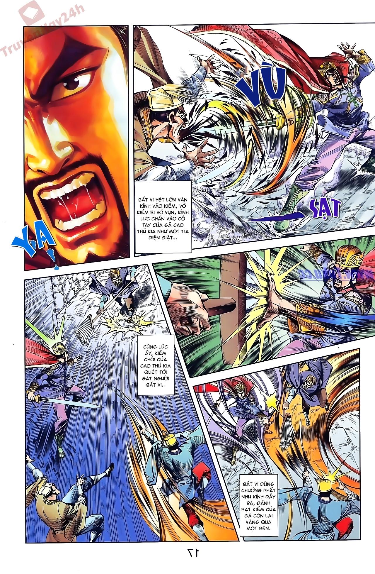 Tần Vương Doanh Chính chapter 48 trang 3