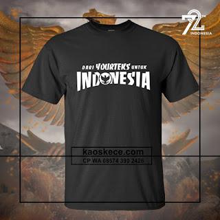 kaos hut ri 72 love indonesia request kata kata istimewa warna hitam
