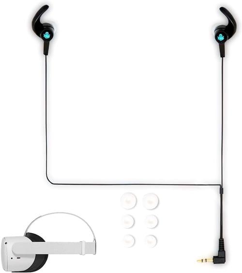 8bitpizza Gaming Headphones for Oculus Quest 2