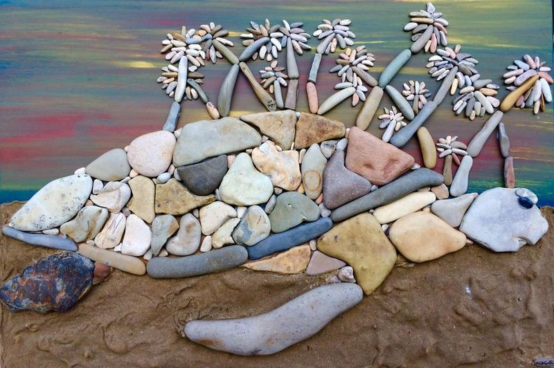Wonderful Stone Paintings of Stefano Furlani