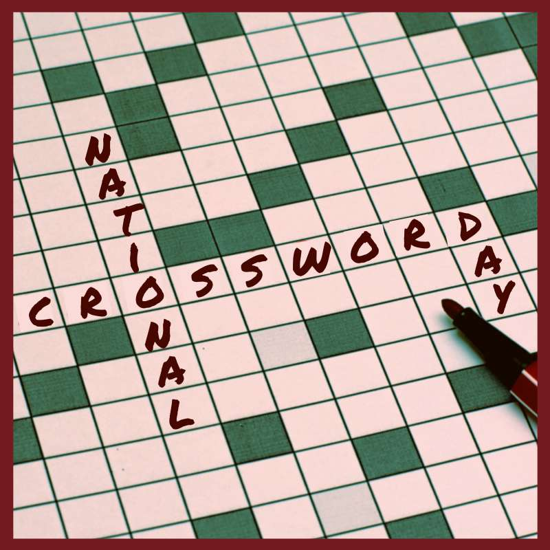 National Crossword Puzzle Day Wishes Lovely Pics