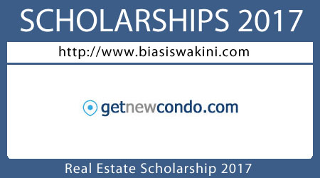 Real Estate Scholarship 2017