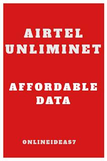 Airtel new Unliminet bundles