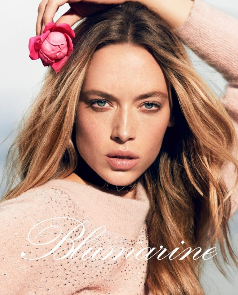 Blumarine enlists Hannah Ferguson for fall-winter 2019 campaign