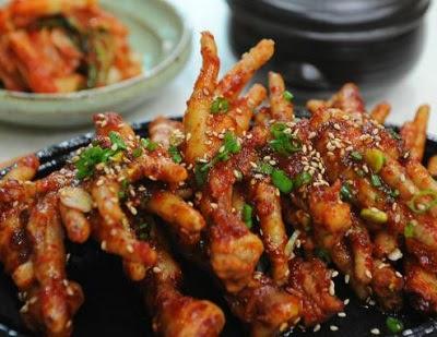Resep Ceker Super Pedas Ala Korea