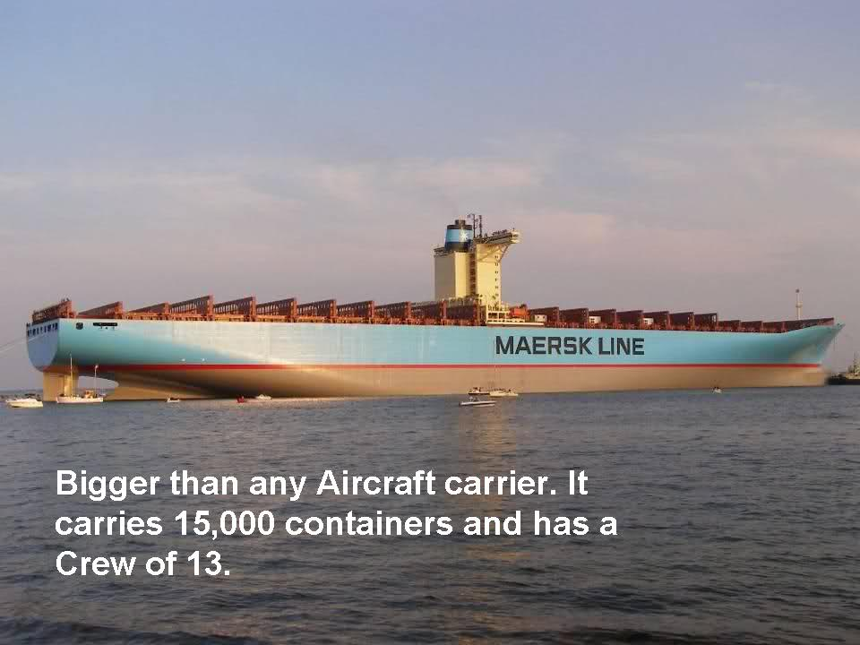 Amaze Pics & Vids: Emma Maersk - World's Largest Container ...