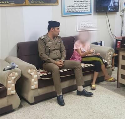 احباط محاولة بيع فتاة من قبل والدها في بغداد