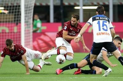 ملخص واهداف مباراة ميلان واتالانتا (1-1) فى الدوري الايطالي