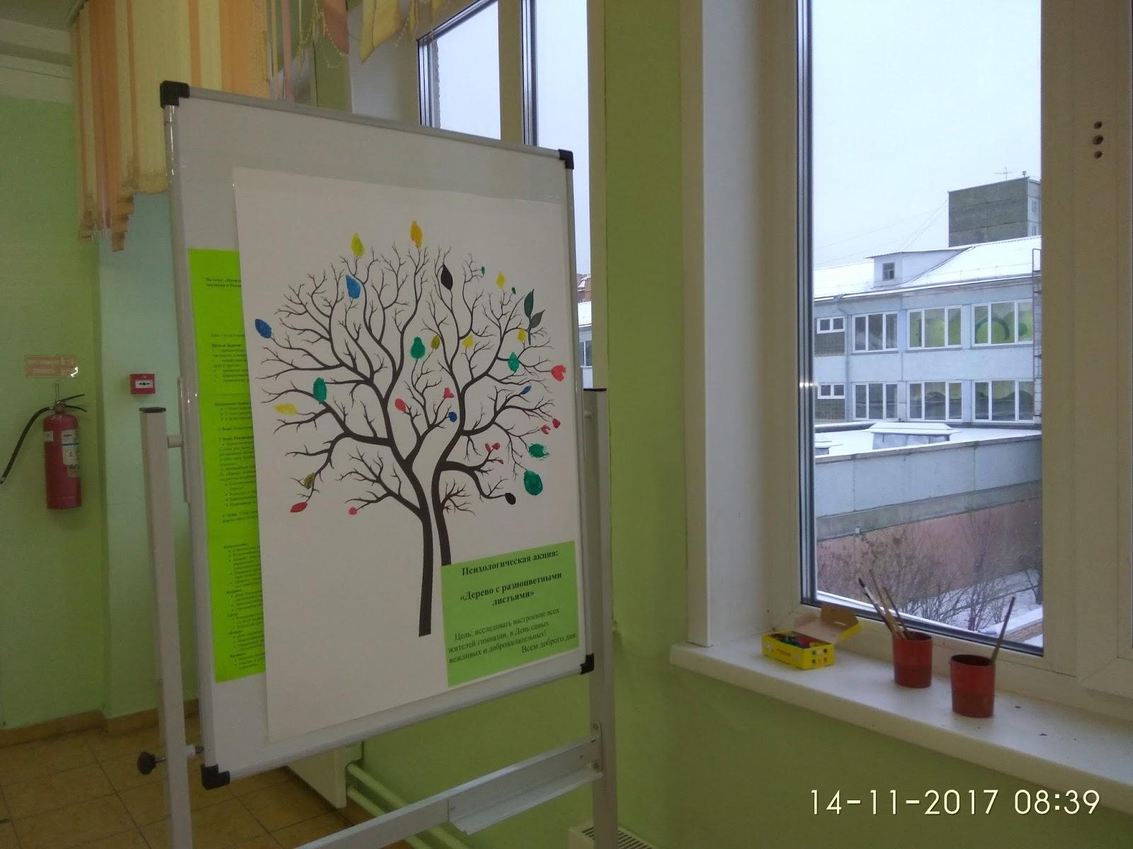 Форум для старшеклассников (8-11 классы): Акция: Дерево с ...