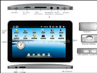 Android Tablet PC offers a camera Flash is supported and the market on Android market