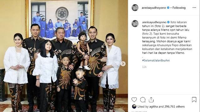 Annisa Pohan, Ungkapkan Perasaan Lewat Akun Instagram Lebaran Tahun Ini Berbeda