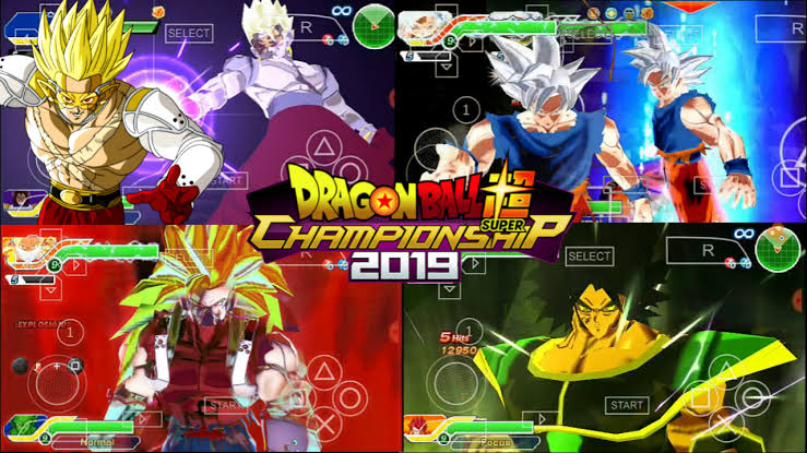 Dragon Ball Z Game Champions New DBZ TTT ISO Download 2020