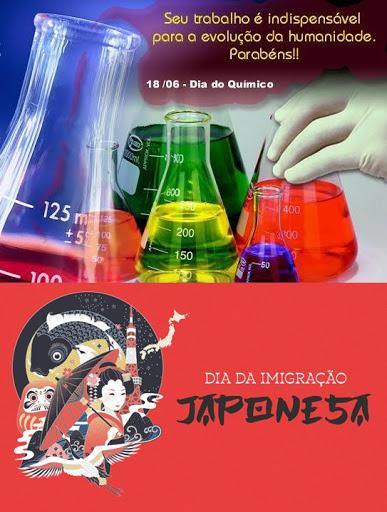Dia do Químico e da Imigração Japonesa
