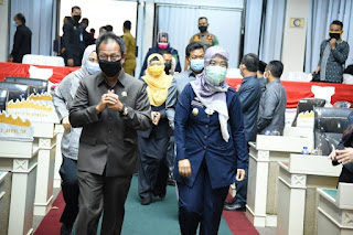 DPRD Provinsi Lampung Setujui Raperda Menjadi Perda