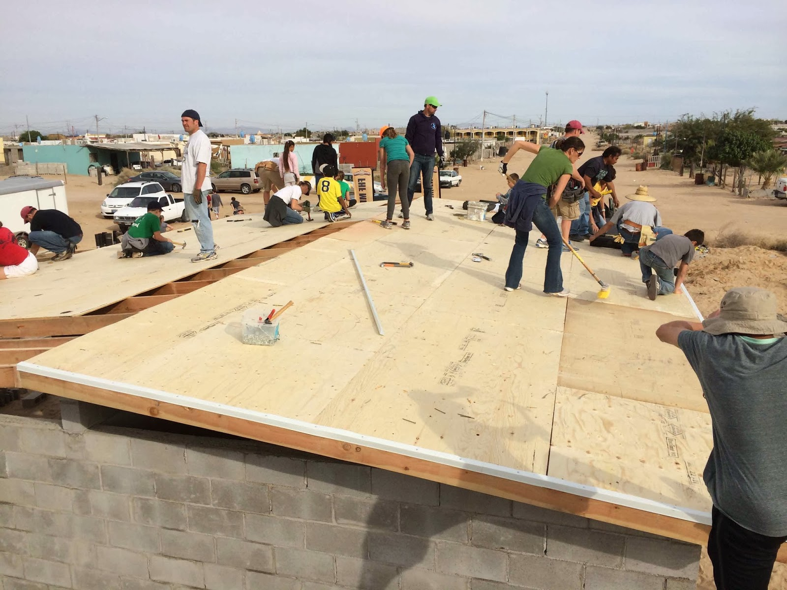 A Day At A Time Building Houses In Mexico Part 2
