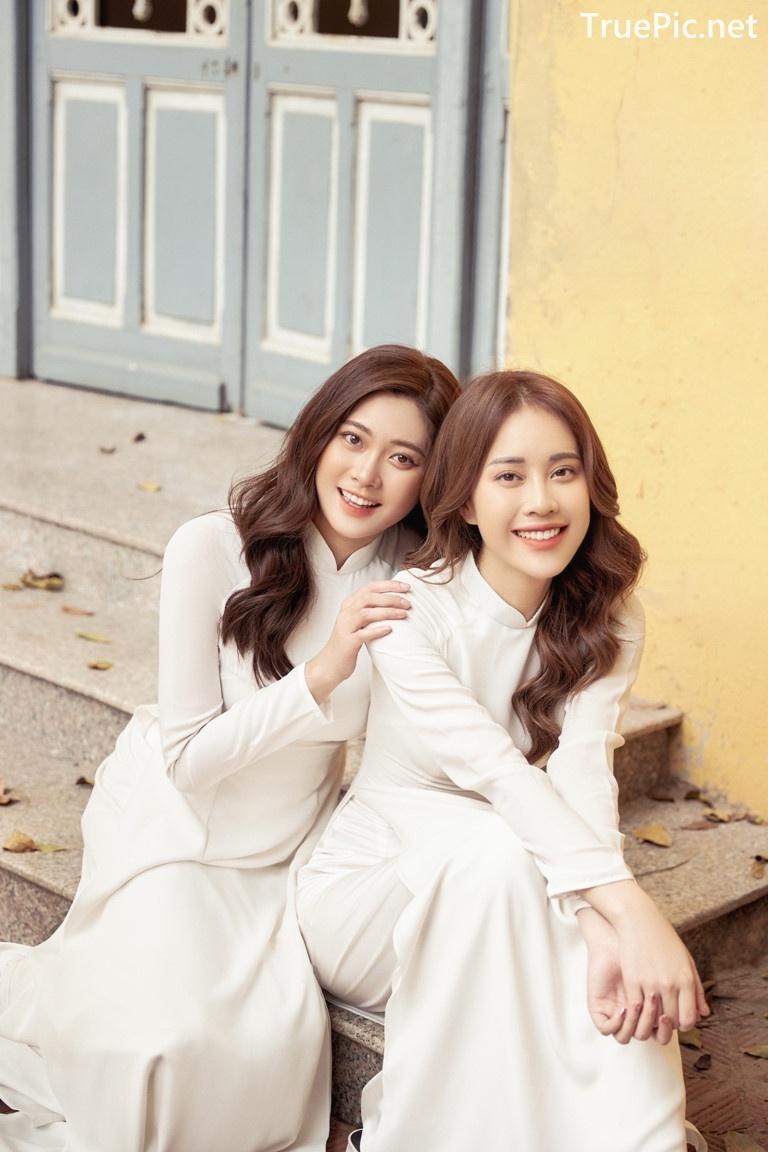 Image Vietnamese Model - Vietnamese Student Dresses (Ao Dai) - TruePic.net - Picture-6