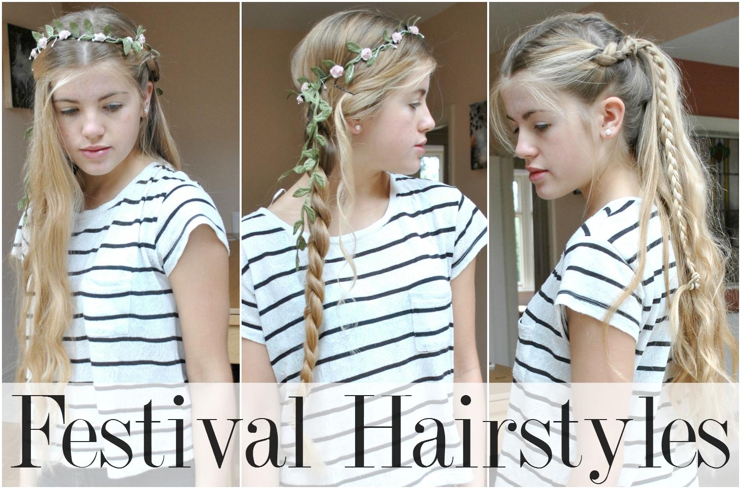 Joie De Jodie 1 Minute Festival Hairstyles