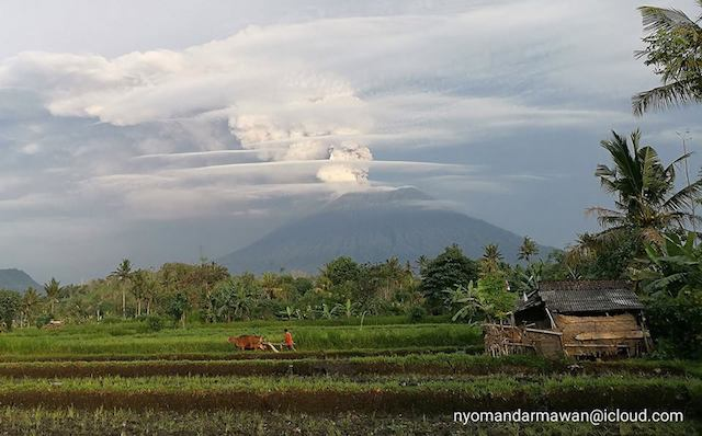 Photo Gunung Agung Bali