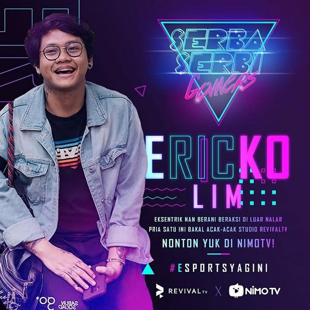 Biodata Ericko Lim