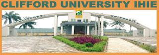 Clifford University Academic Calendar 2020/2021 [REVISED]