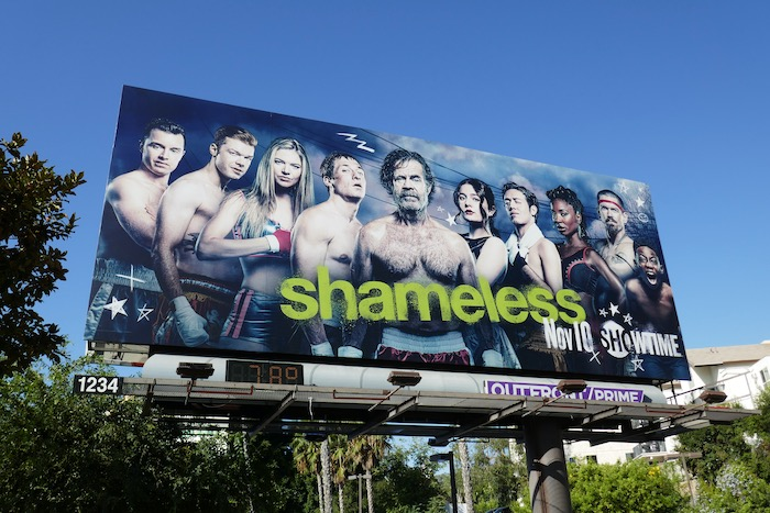Shameless season 10 billboard