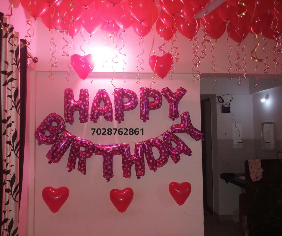 Anniversary surprise for girlfriend