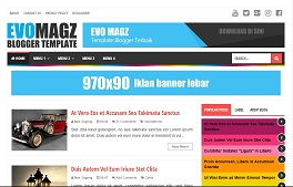 Template Blogger Responsive SEO Friendly Terbaik