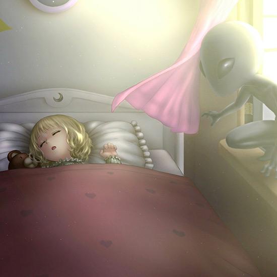 Anime Fantasy Alien Wallpaper Engine