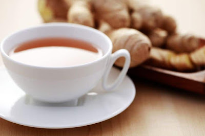 ginger, nausea, sore throat