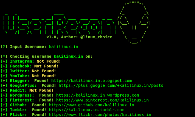 userrecon targets