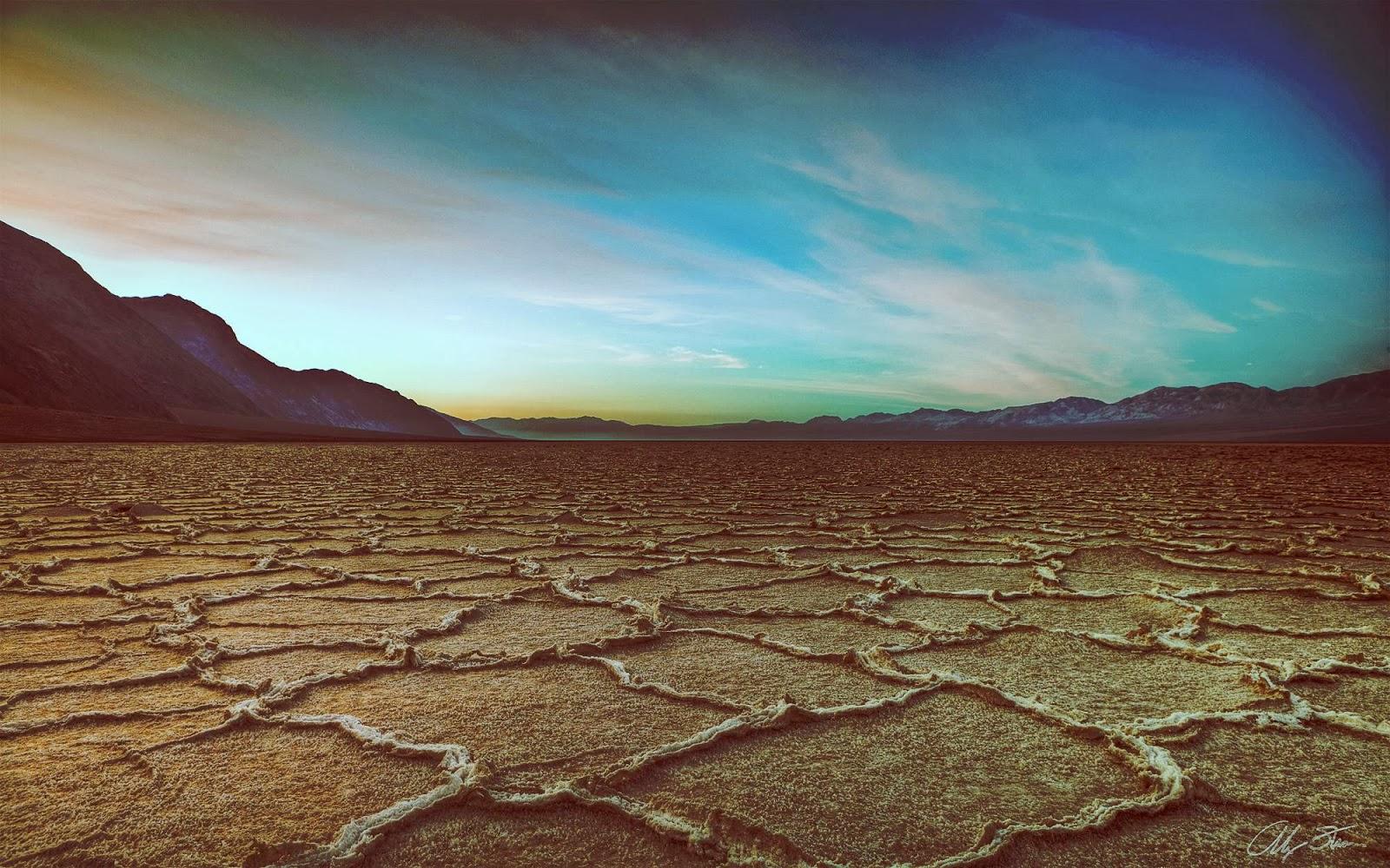 Imagenes Abstractas En Hd Para Descargar: Fondo De Pantalla Abstracto Suelo En El Desierto