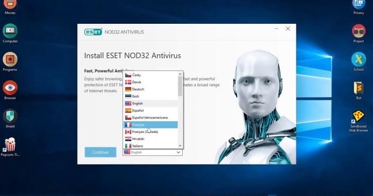 ESET NOD32 Serials Key Password & Username Update 2020 ...
