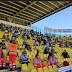 Parma, gli ultras disertano la partita con la mascherina