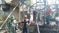 Rumah Warga di Bantarkawung Ludes Dilalap Sijago Merah